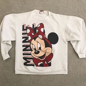 Vintage Disney Designs Minnie Mouse sweatshirt